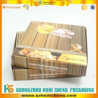 Fashionable flat pack foldable paper box Pizza box