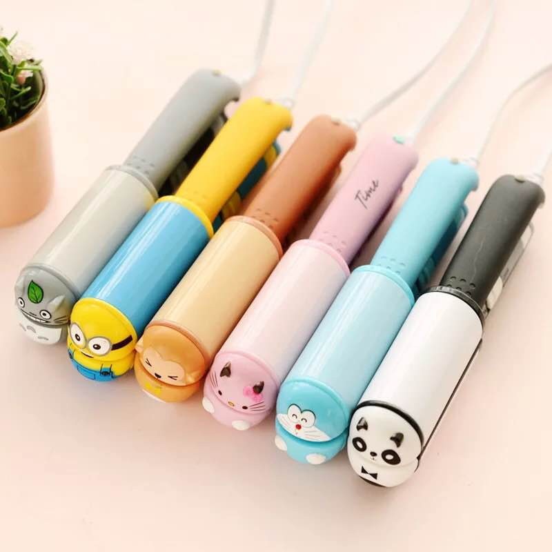 Amazon Hot Wholesale Professional Cheap cute hair straightener children gift cartoon falt iron steam portable mini hair iron