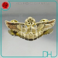 Top Quality Real Gold Factory Custom