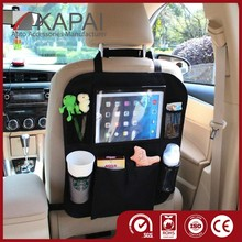 Seat Back Protectors with Clear iPad or Tablet PC Holder