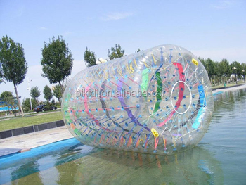 Best sale inflatable water roller ball, water rolling ball D1004B