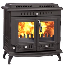 Classic multi fuel cast iron wood burning stove WM703A