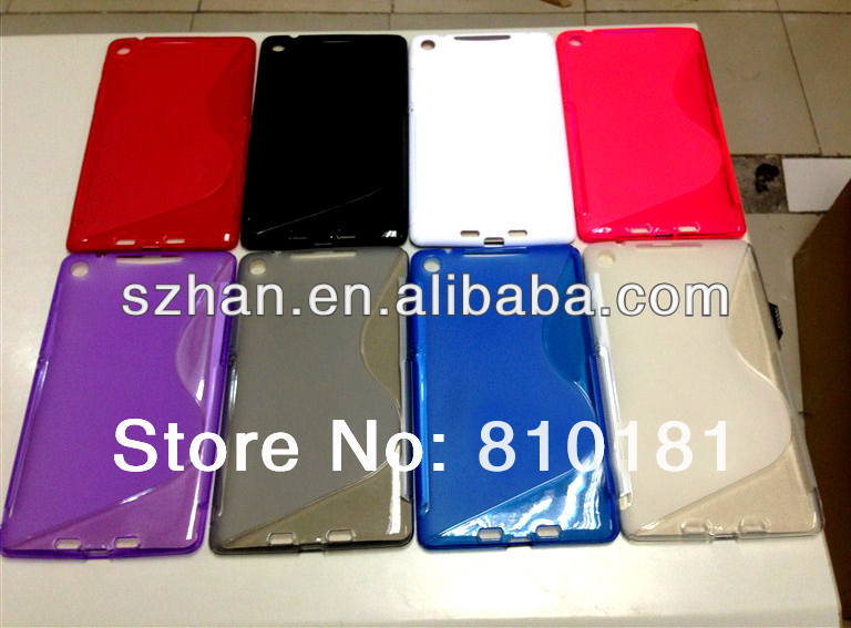 For Google Nexus 7 II 2nd Soft Crystal Sline TPU Case