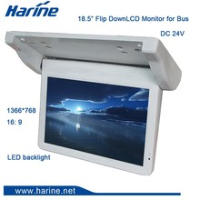 18.5 inch Roof Monitor HDMI Media Player For Truck Car Vehicle