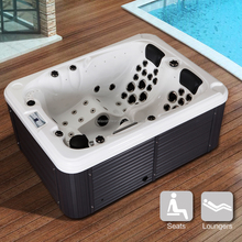 hot sale acrylic whirlpool massage portable outdoor spa tubs