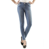 Huade CDL544 high quality ladies mid waist crop jeans