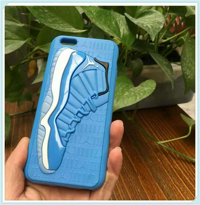 3D Jordan Sneaker Shoes Sole Football Team Phone Case for iPhone 6/6s/6s Plus