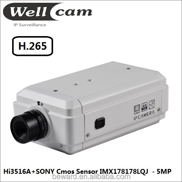 2015 new ip security product h.265 h.265 video,5MP high resolution