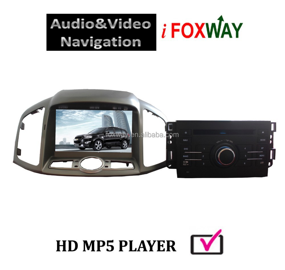 In car DVD player with GPS Navigation system for Chevrolet Captiva 2014