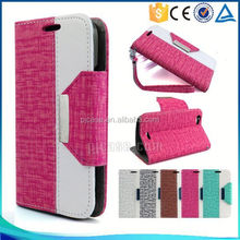 New arrival mix color wallet style design cell phone case for Blackberry Q5