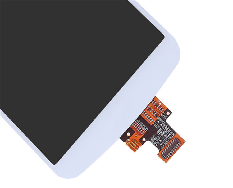 China mobile spare parts for lg k10 lcd display touch screen