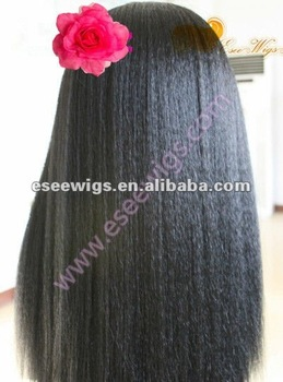 Top quality afro kinky hair wigs for black women