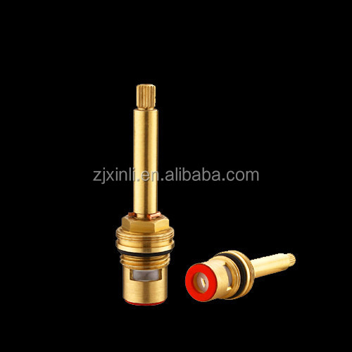 Brass Tap Cartridge, G1/2 Fast Open Cartridge with Long Lever, X3141