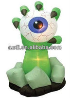 6' Inflatable Monster Hand with Eyeball,Halloween inflatable decoration