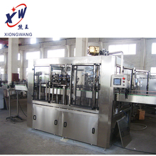 China factory softdrink soft drink soda can filling machine