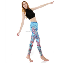 Sublimation Yoga Pants Fitness Yoga Wear for Women and girls