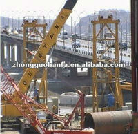 QJ250-1 type Heavy calibre boreholes drilling machine used in Maonshan changjiang river bridge construction