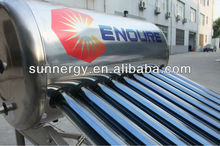 Stainless steel solar electric hot water heater