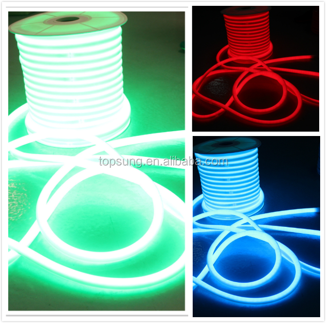 360 degree led neon outdoor rgb tubes color changing neon-flex strips