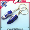 Wholesale souvenir metal custom made pvc car wheel keychains