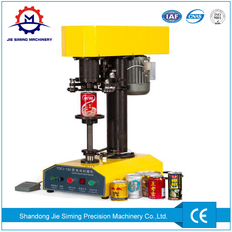 Electric Can Seamer Can Seaming Machine for Metal Cans