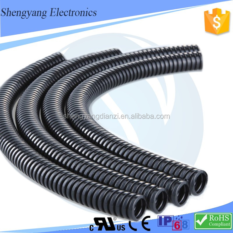 New Products MG / PG ROHS / IP68 Certification Conveying Water Prices Of Polyamide Pa66 /Nylon 66 Corrugated Hose