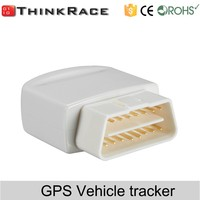 Plug and play gprs car tracker with gps tracking systems and mobile app