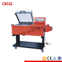 FM-5540 Zhejiang fashionable manual shrink overwrapping machinery
