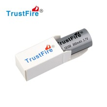 3.7v e cig battery trustfire IMR18350 800mah best rechargeable E-cig battery made in china trustfire original manufacture