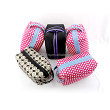 Neoprene travel toiletry bag/cosmetic bag/makeup bag