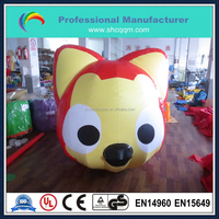 customized sleeping inflatable cartoon character for sale