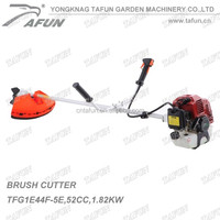 Agricultural garden tools portable manual gas metal blade 52cc gasoline brush cutter