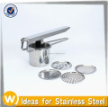 Potato ricer with 4 discs,Potato masher ricer