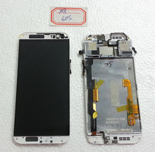 ONE M8 831c LCD Display screen with A Cover (black white silver gold grey )