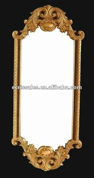 beveled metal antique mirror frame,classic cheap framed mirror