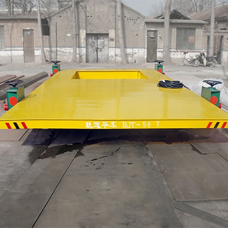 50Tons Mobile cable powered handling truck on rails