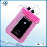 IPX8 water sports waterproof cover for iphone 4