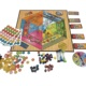 Family game custom colourful board game set for children