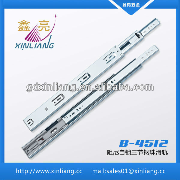 new design roller bearing drawer slide