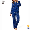 China suppliers ladies night suits designs slim fit birds print women nighty