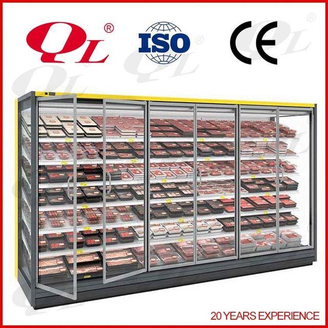 Supermarket Upright Open multideck Vegetable and Fruit chiller fridges and freezers sale