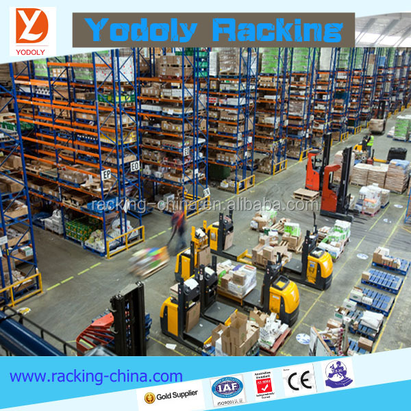 warehouse using CE AS4084 ISO9001 SGS certified high quality assurance heavy duty pallet packing