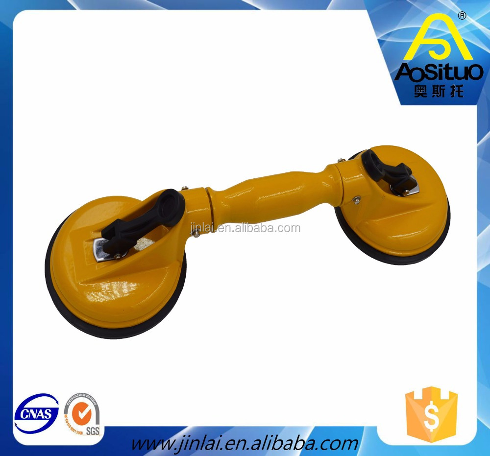 Glass tools sucker hand pump/glass sucker lifting equipment/double vacuum suction lifter