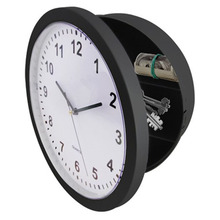 NEW WALL CLOCK SAFE WITH HIDDEN COMPARTMENTS SECRET STASH JEWELLERY MONEY