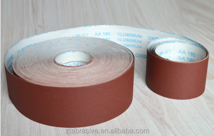 40-600 grit 10cm width Abrasive sanding Utility Cloth Roll