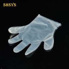 Wholesale top quality disposable sterile pe medical waterproof glove