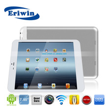 3G 7.85 inch Android tablet pc MTK8382 quad core 1GB/8GB accesories, bluetooth+ GPS+HDMI