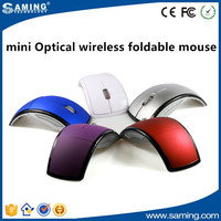 2.4ghz Wireless Foldable Folding Arc Optical Mouse for Computer PC Laptop