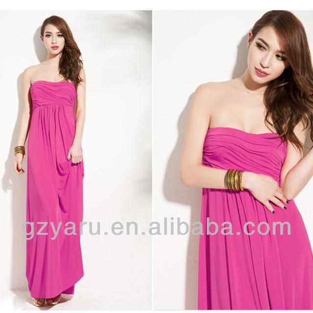 plus size women backless dress fashion pregant women evening dress