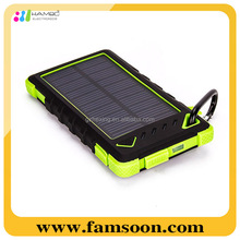 New Listing High Capacity Polymer Solar Mobile Power Bank Factory Supply